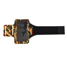 跨境專供鍛煉運動手機臂帶手機臂套 迷彩手機運動臂帶手機袋定制