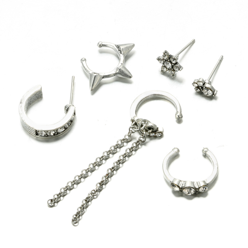 Alloy Korea Flowers earring(Main color) NHGY1718-Main color