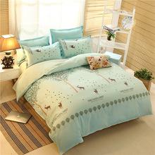 【买就送枕芯】冬季加厚四件套1.5m加大床单被套1.8m床上用品批发