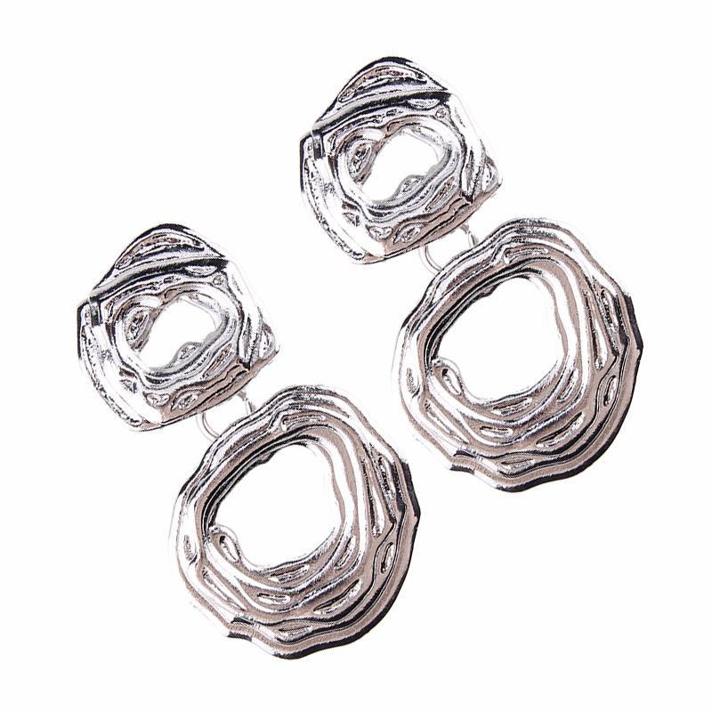 Alloy Korea Geometric earring  (Alloy) NHJQ9897-Alloy