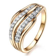 Nhẫn nữ thời trang, đính đá đẹp mắt, mẫu mới phong cách Âu Mỹ