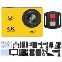 新款4K帶遙控手環山狗8代運動相機攝像機 DV航拍防水wifi