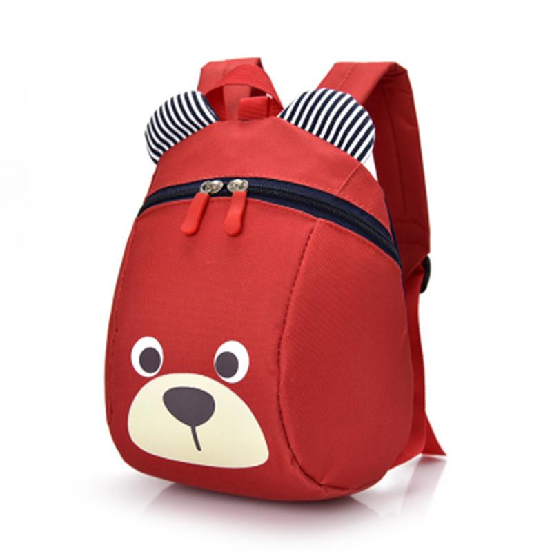 韩版卡通儿童书包幼儿园男女童1-5岁宝宝书包双肩防走失丢失背包