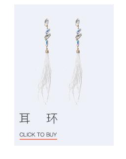 Alloy Fashion Geometric earring  (Alloy + white) NHTF0085-Alloy-white