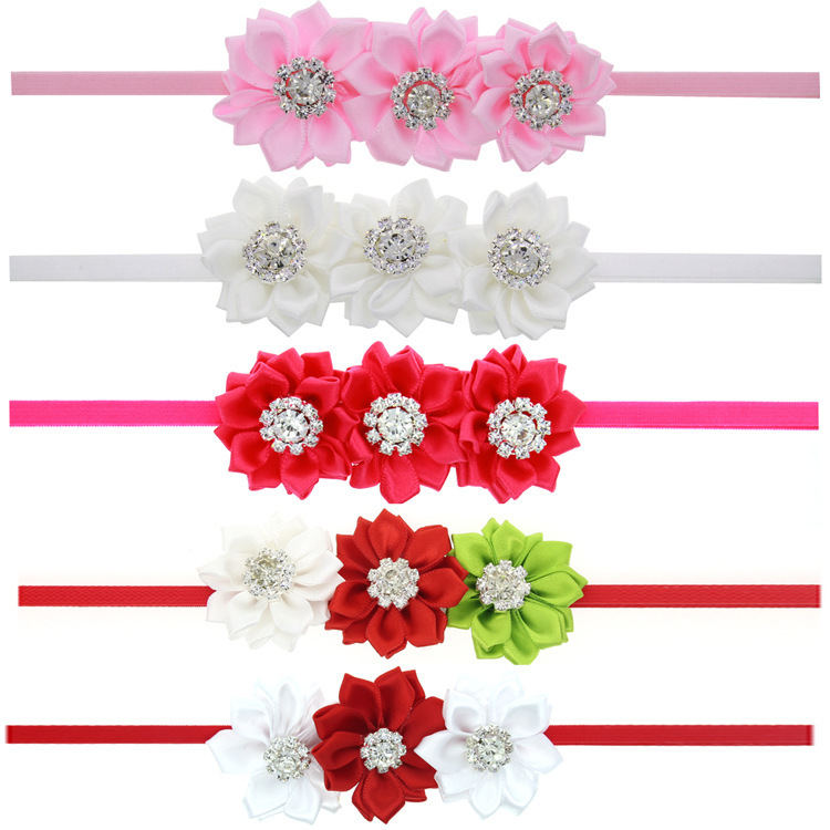 Cloth Fashion Flowers Hair accessories  white  Fashion Jewelry NHWO1016white
