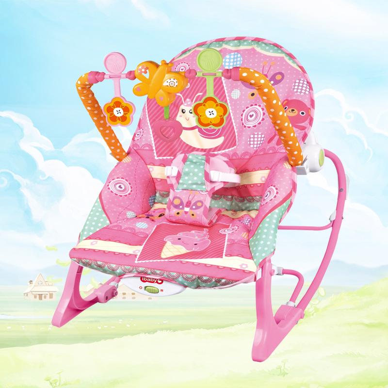 一件代发婴儿玩具摇摇椅 宝宝摇椅 哄娃神器音乐振动礼品摇椅