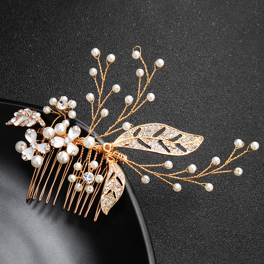 Alloy Simple Flowers Hair accessories  (Alloy) NHHS0561-Alloy