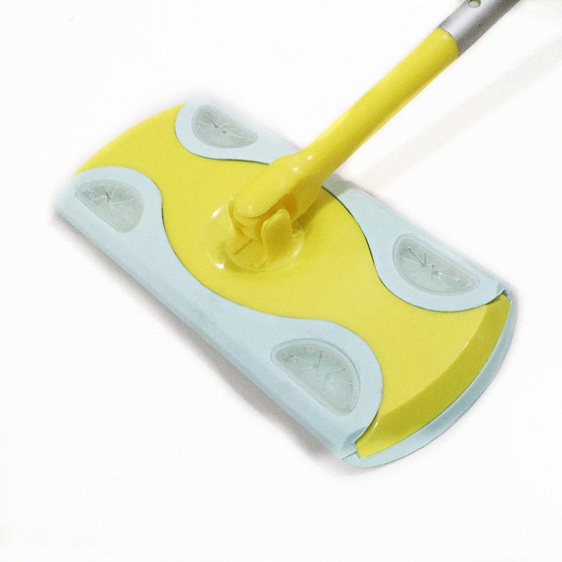 加粗折叠静电除尘纸 夹布清洁拖把 地板粘尘纸旋转拖把批发
