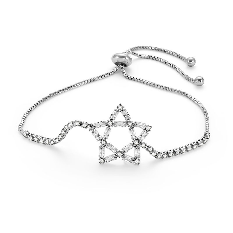 Alloy Simple Geometric bracelet  (66186017) NHLP1142-66186017