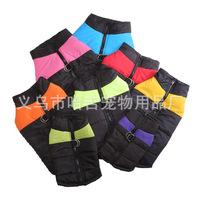Завод оптовые продажи осень-зима Одежда для собак удерживающий тепло Ветрозащитная собака хлопок Спортивная одежда