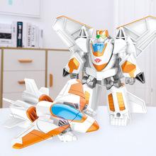 合金一步变形玩具金刚5汽车机器人模型男孩儿童玩具