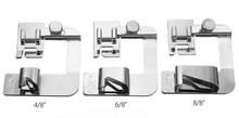 直销家用电动多功能/老式缝纫机 卷边 包布条包边压脚7款组合套装
