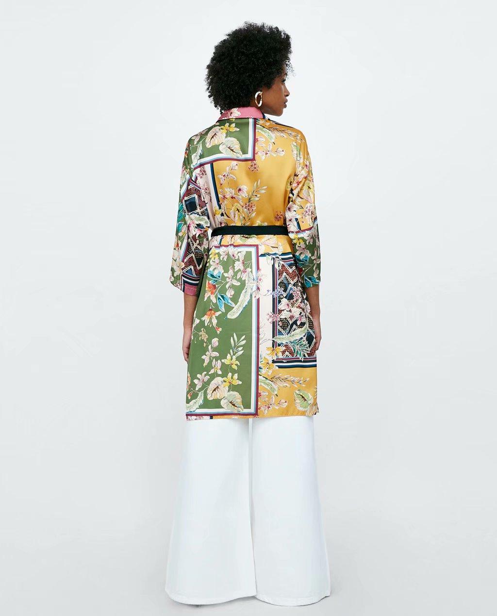 Chiffon Fashionskirt(Picture color -L) NHAM4501-Picture-color-L