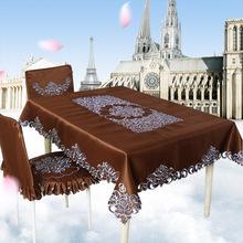 2018新款欧式古典桌布 长方形喜庆家居用品 欧式简约餐桌桌布批发