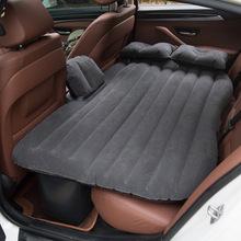 现货代发 车载车中床 户外旅行PVC植绒床垫 汽车用品 充气床批发