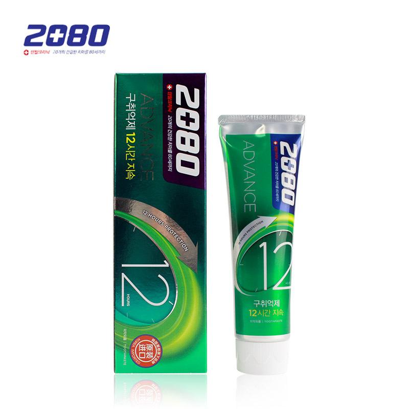 进口牙膏 2080 清新酷爽牙膏 120g 韩国日化批发
