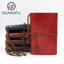 创意笔记本定制复古海盗绑带韩国学生记事本航海活页本日记手账本