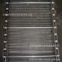 河北金屬網帶 菱形烘干機鏈條傳送帶 食品罐頭輸送帶