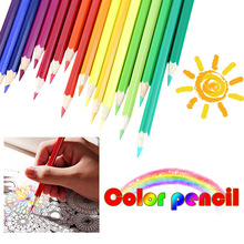 Student prizes stationery  36/48/72 color pencil environmentally friendly oily color lead paint brush