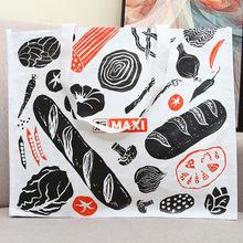 定做环保购物手提编织袋可覆膜广告礼品袋包装袋塑料编织袋定制