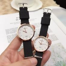 豆蔻doukou3367小号多色学生布带石英表手表批发布带表时尚新款