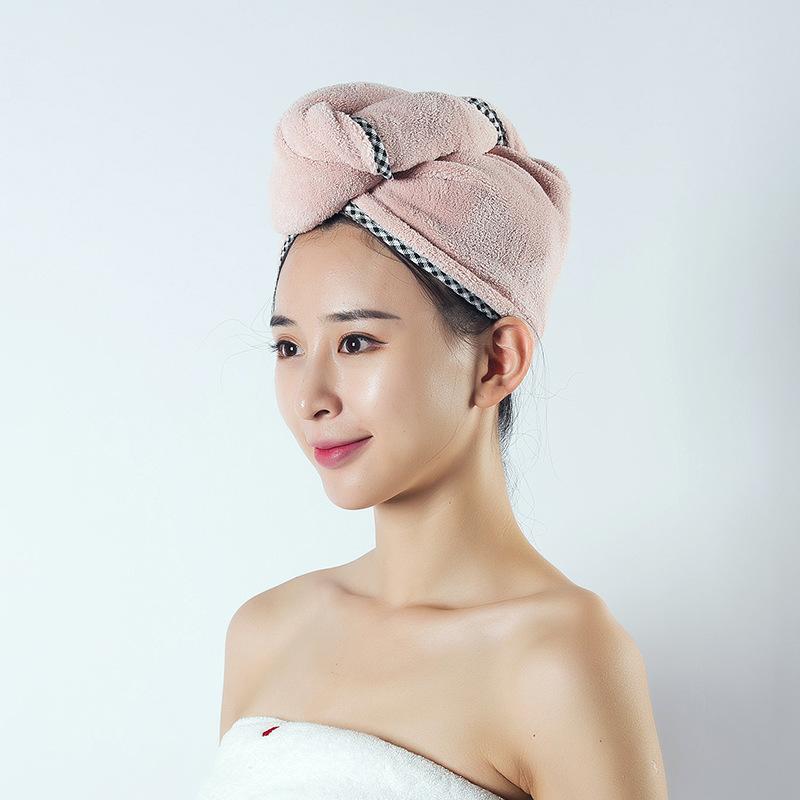 优系干发帽女吸水干发巾擦头发速干毛巾包头巾可爱洗头浴帽长发