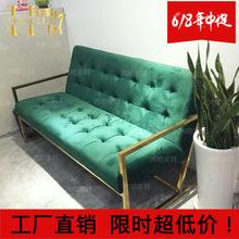 厂家直销不锈钢五金家具加工皮制懒人沙发床现代简约客厅沙发组合