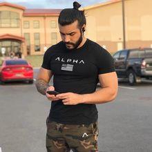 肌肉健身兄弟春夏新款男士運動跑步訓練圓領短袖t恤