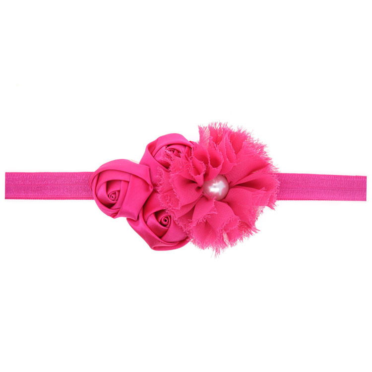Cloth Fashion Flowers Hair accessories  red  Fashion Jewelry NHWO0736red