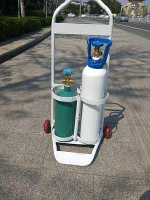 供应氩气瓶 10升钢瓶 氩弧焊专用气瓶 体积小 携带方便
