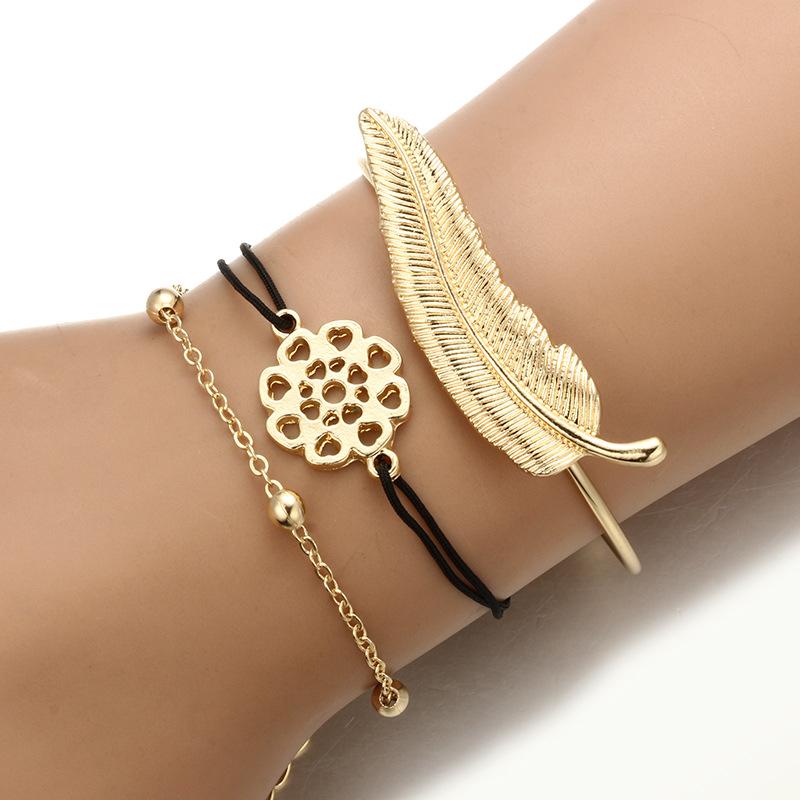 Alloy Fashion Geometric bracelet  Alloy NHGY1732Alloy