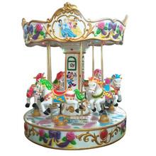 6人旋转木马大型户外儿童电玩游乐园设备豪华转马游乐旋转木马