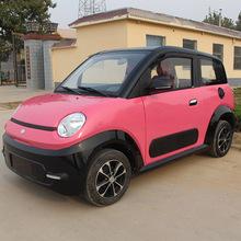 工厂直销批发新款铁壳微型成人电动四轮车女士上班代步电动小轿车