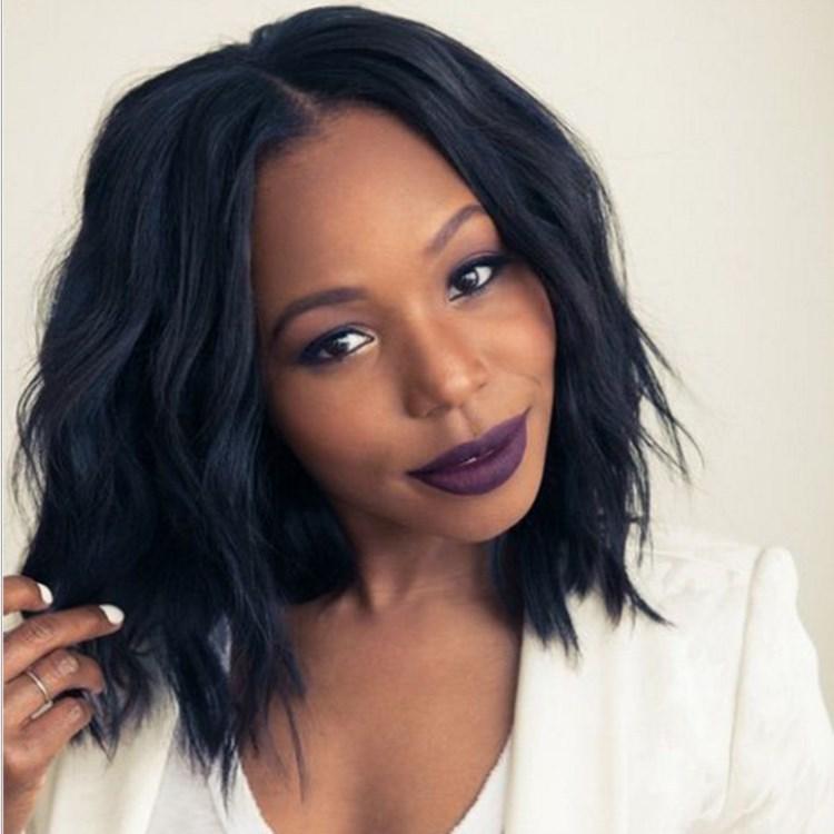 假发套非洲短卷发头套女高温丝欧美假头发黑人爆款wig速卖通热卖