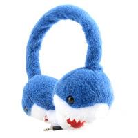 儿童耳机儿童音乐耳机毛绒保暖冬天护耳舒适有线头戴式音乐耳机