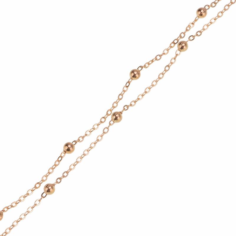 Alloy Fashion Geometric necklace(Golden) NHWF3251-Golden