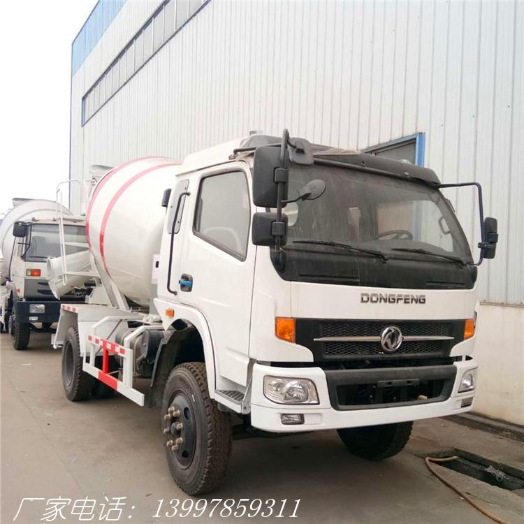 东风5方搅拌车 混凝土车价格哪里便宜热销推荐