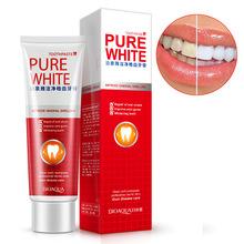泊泉雅净白健齿 牙膏蔓越莓薄荷护牙膏 口腔去牙渍 清洁护理直销