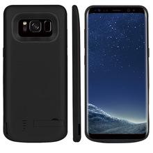 S8软胶背夹电池手机充电壳充电宝移动电源手机壳背夹电池后背电源