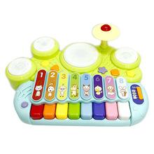 谷雨儿童宝宝电子琴玩具0-1-3岁婴幼早教益智?#26234;?#22899;孩初学玩具琴