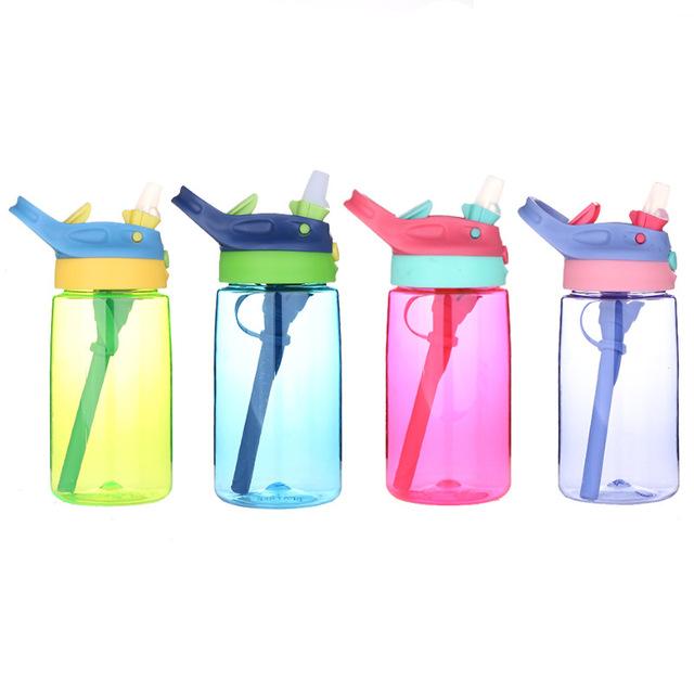 厂家批发儿童运动学饮杯 宝宝吸管喷雾水杯 婴幼儿随手杯