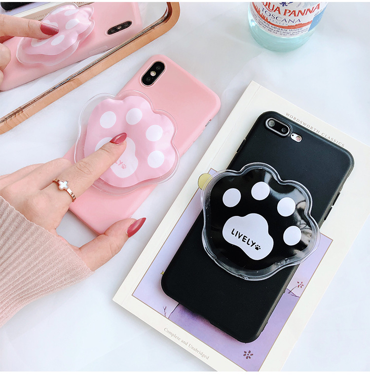 Summer cool 8X Apple 6splus mobile phone shell female models cute cat claws iphone7p ice bag cooling protection sleeve
