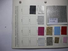金属贴膜皮革十字纹PU皮革金属色涂层贴膜PU人造革包装鞋材面料FE