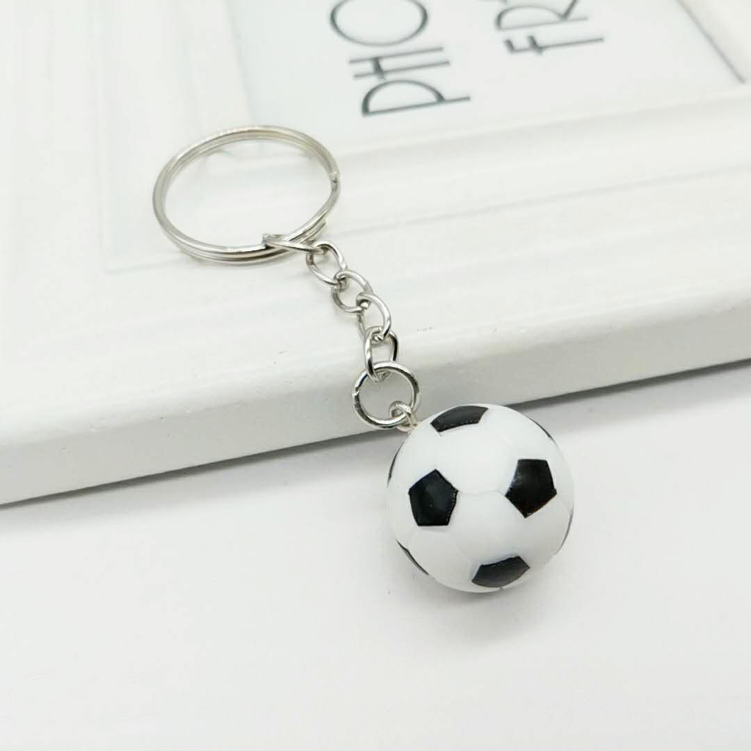 Football Basketball Rugby Pendant Keychain Wholesale Nihaojewelry  NHYOU422327