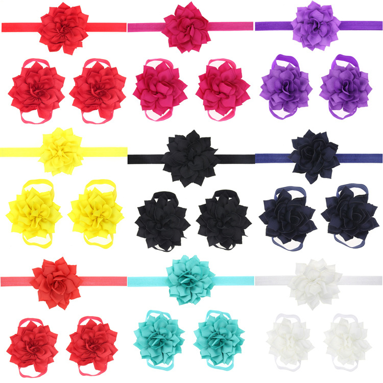 Cloth Fashion Flowers Hair accessories  (red)  Fashion Jewelry NHWO0593-red