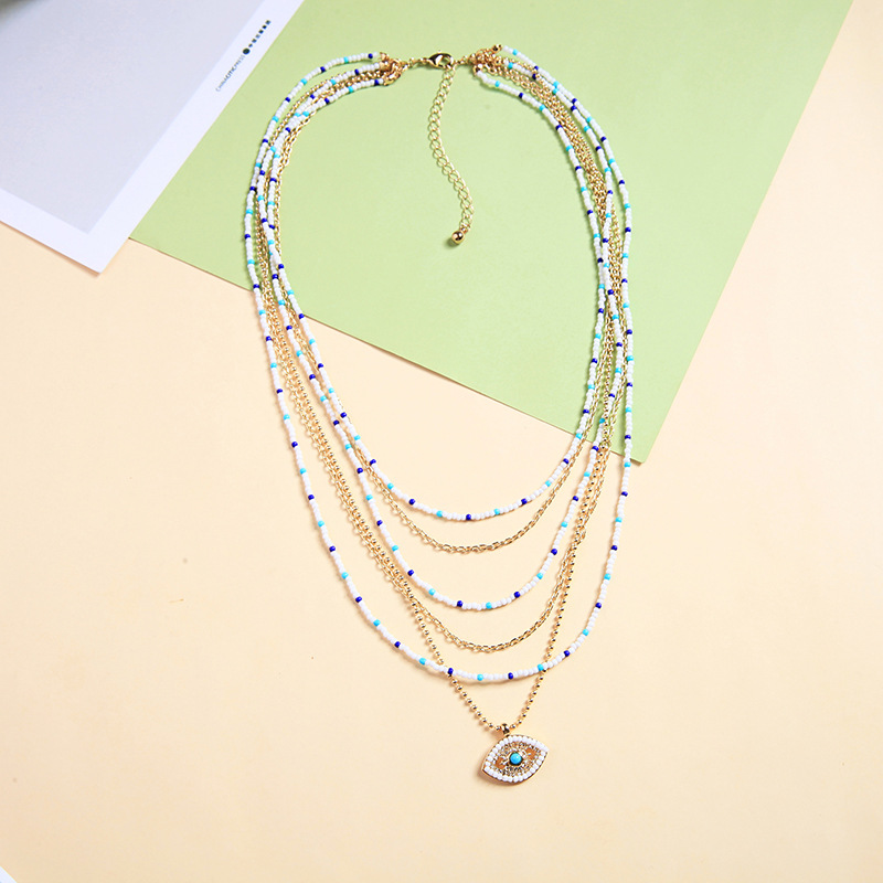 Alloy Fashion Animal necklace  (Photo Color) NHQD5471-Photo-Color