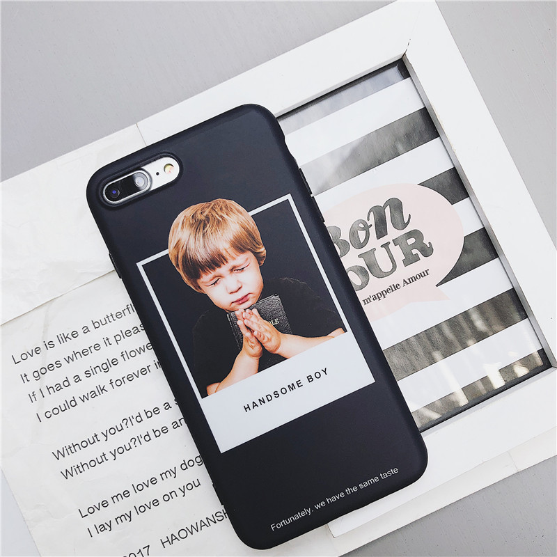 Girl cute stereo ear silicone phone case NHNL141273 For iphone XS