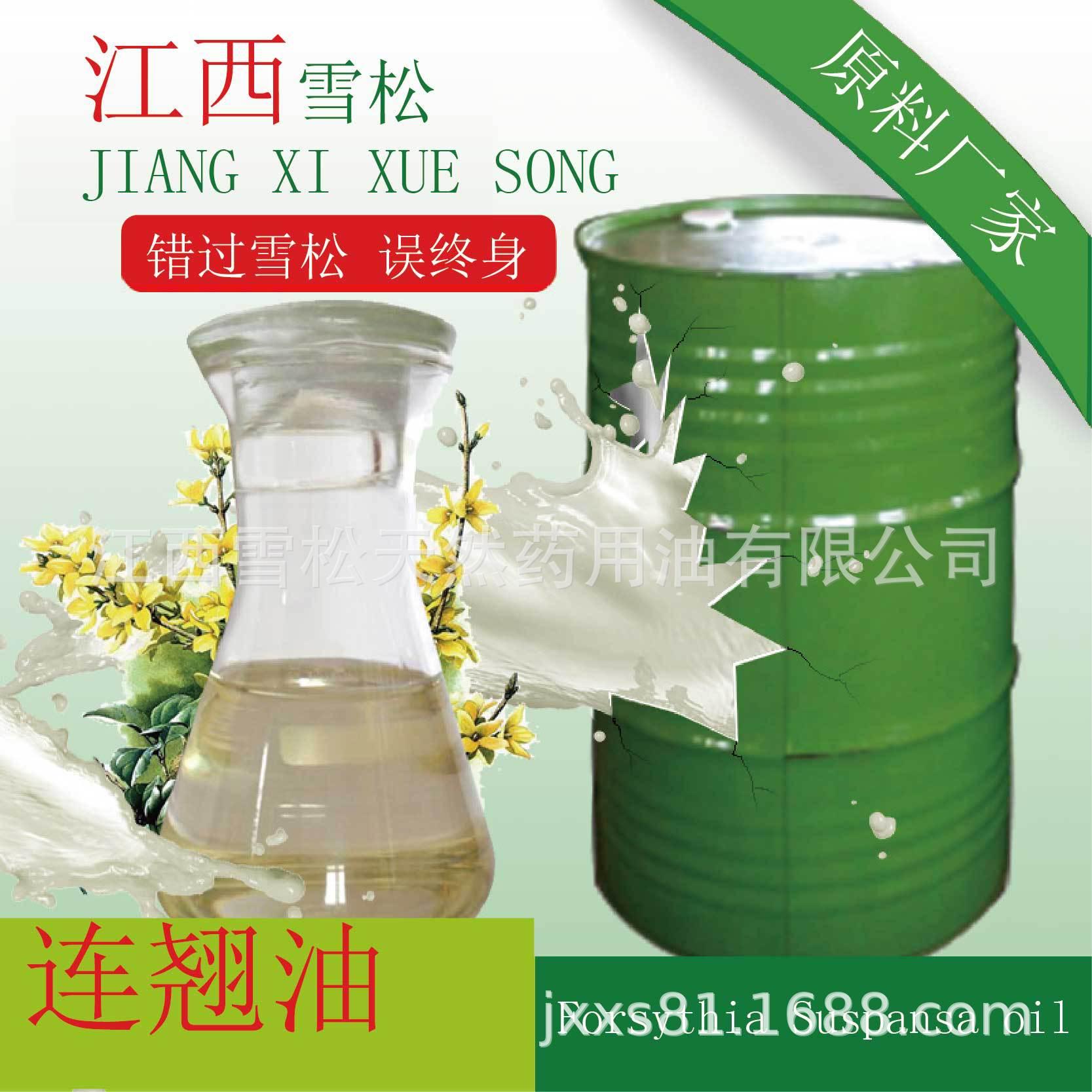 厂家直销  连翘油 植物萃取 单方精油 连翘提取液 可批发零售