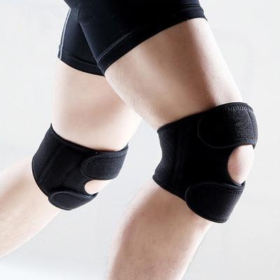 护具厂家定做SBR潜水料登山跑步篮球开放式髌骨运动护膝