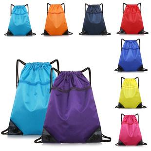 Waterproof drawstring bag drawstring backpack men and women outdoor large-capacity travel travel bag running sports bag